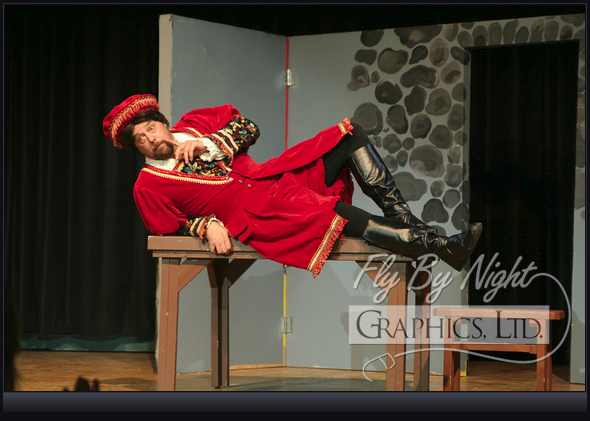 Joe Holmers in <i>Kiss Me Kate</i>