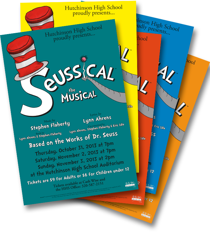 HHS-Seussical-posters